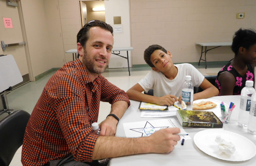 BBBSMMC Mentor of the Month Chris with Isaiah